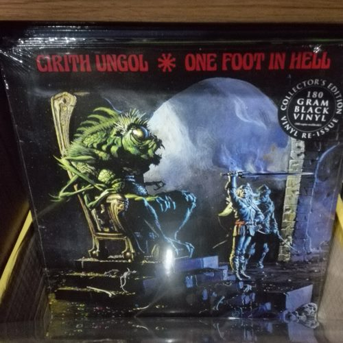 CIRITH UNGOL - One Foot In Hell (LP)