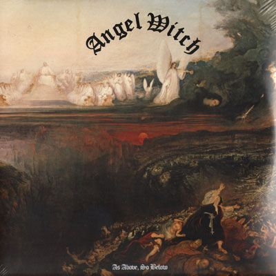 ANGEL WITCH - As Above As below (2LP)
