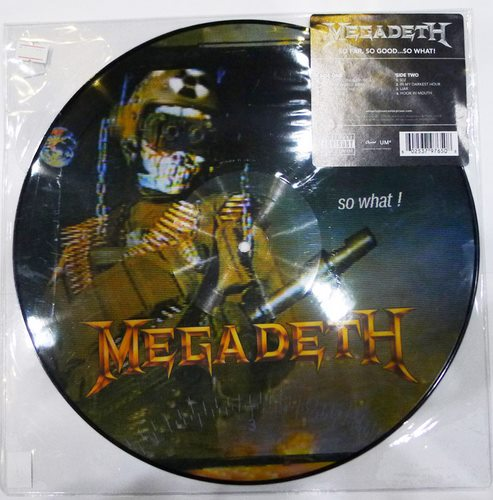 MEGADETH So Far So Good (Pic LP)