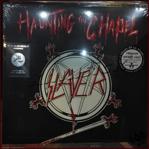 SLAYER - Haunting the Chapel (Ltd. White LP) 限量白胶